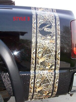 Real Tree M4 CAMO Diesel 2500 3500 Truck Bed Stripes Stripe Decals Ram