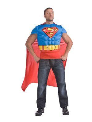 Kostüm für Erwachsene Muscle Chest Shirt - Superman Kostüm Für Erwachsene