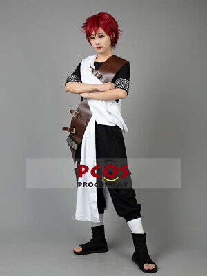 ProCosplay fifth Kazekage Sabaku no Gaara Outfit Cosplay Costume & Shoes
