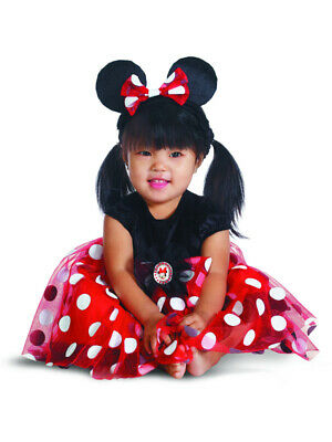 Mickey Mouse Red Minnie Mouse Baby Girls Costume Set 12-18 Months - Mickey Mouse Costumes For Girls