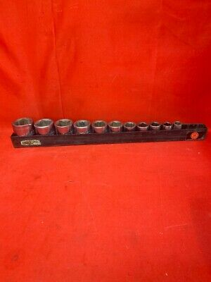 Wright Tools 11pc Impact Socket Set 8pnt Hex 12drv 716-1-14 Cp1069761