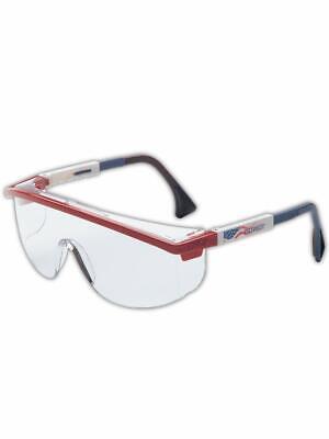 Uvex Astrospec 3000 Patriot CLEAR Red/White/Blue Frame, Ultra-Dura-Medicos Club