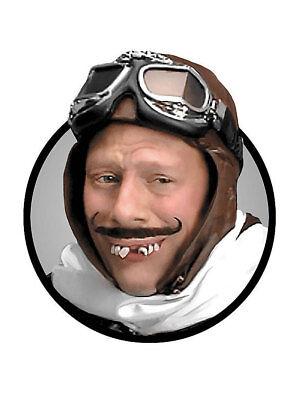 Aviator Zähne Karneval Halloween Pilot Flieger Gebiss