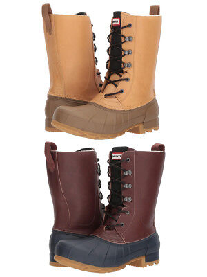 Lace Pac Boot - Hunter Original Insulated Pac  Lace Up Waterproof Winter Snow Trail Boots Shoes