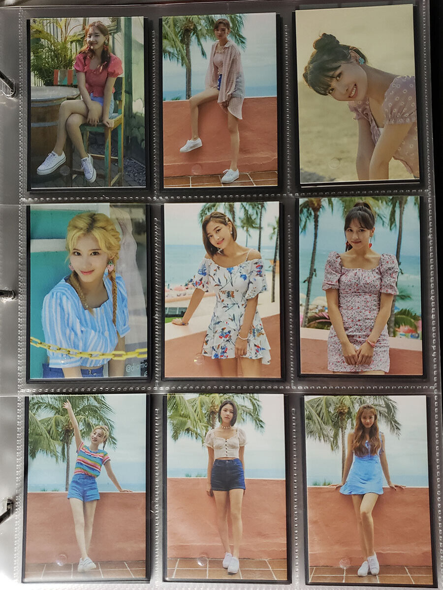 TWICE - TWAII'S SHOP in SEOUL - Official Trading Photocard 37-45