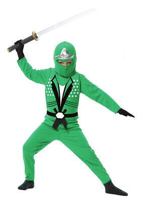 Green Ninja Avenger Costume (Child Green Ninja Avengers Series 2)