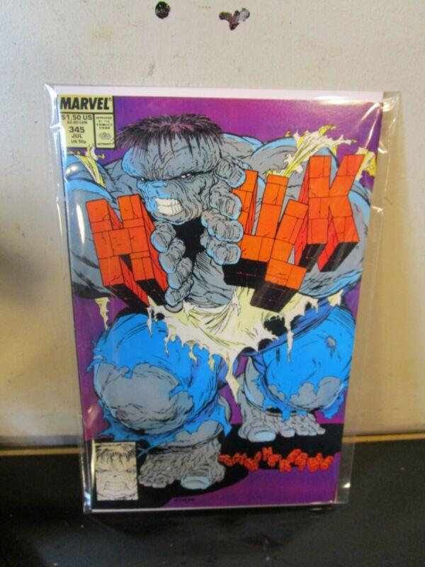 Incredible Hulk #345 July 1988 Marvel Comics Todd McFarlane BAGGED BOARDED