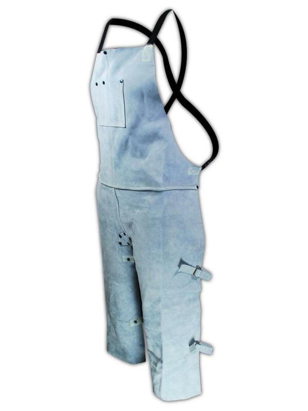 Magid Weld Pro 24 x 36 Flame Resistant Leather Split Apron, Each