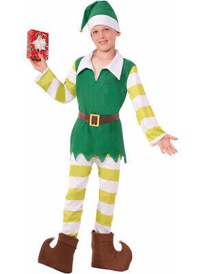 Boys Christmas Santas Helper Classic Worker Elf Costume - Elf Costume For Boys