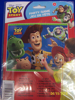RARE Toy Story 3 Disney Pixar Movie Kids Birthday Party Pin the Badge Game * (Toy Story 3 Birthday)