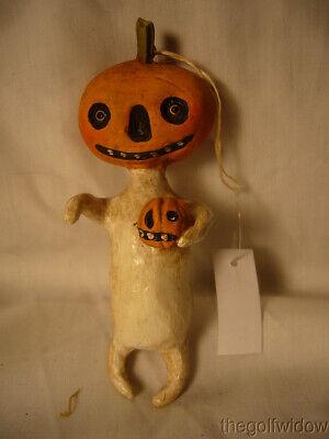 Bethany Lowe Halloween Little Pumpkin Head Ornament no. HH9220