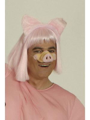 Große Schweinenase Ulknase Party Kostüm Accessoires Fun