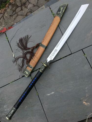 High Quality KangXi Dao Broadsword Sword Saber Sharp High Manganese Steel Blade