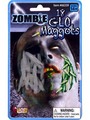 nEW Zombie Makeup Glow in Dark Maggots Costume Accessory Halloween prop Gross - Halloween Gross Makeup