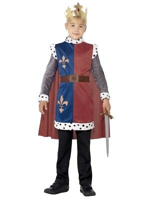 King Arthur Medieval Renaissance Boy Child Costume - Boys Renaissance Costumes