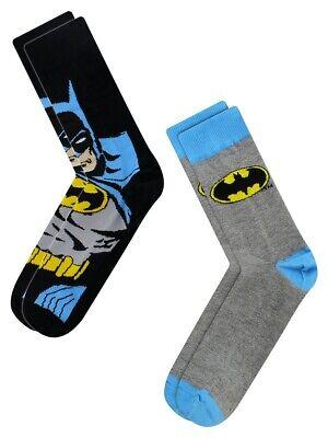 Batman Socks Logo Cape Men's Black 2 Pack8x37cm