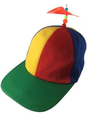 Nerds Animal House Multi-Color Student Orange Bead Propeller Hat Cap Accessory