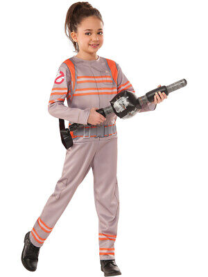 Child's Boys Girls Ghostbusters Ghost Buster Jumpsuit - Ghostbusters Costume Kids