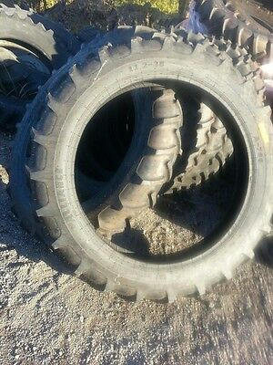 Two New 11.2x38 Irrigation Lug A B John Deere Farmall Tractor Tires