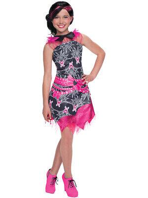 Deluxe Kid's Girls Draculaura Dress Costume - Girls Draculaura Costume