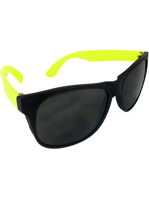 Child Retro 80s Neon Yellow & Black Costume (Sunglasses Kid 80s Baby)
