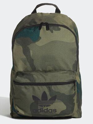 Adidas Camo Classic Backpack. NEW. 44 30 13. Green. Daysack Rucksack Bag.