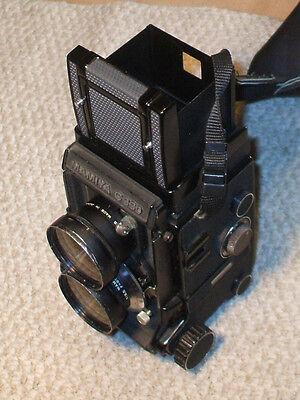 MAMIYA C330 PROFESSIONAL TLR Film CAMERA 65mm f/3.5 SEKOR LENS
