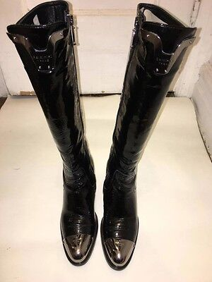 Baldinini Womens steel toe boots