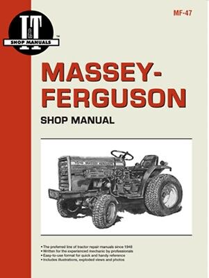 It Shop Manual Massey Ferguson - Mf1010 Mf1020 Mf-47 Farmer Bobs Parts