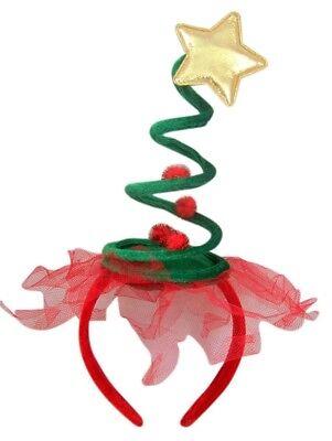 Urlaub Party Stirnband (Weihnachtsbaum Stirnband)