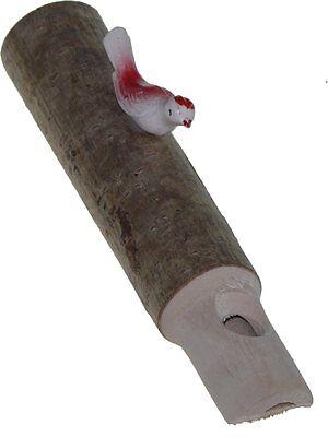 Vogelpfeife natur Echtholz Vogelstimme Uhustimme