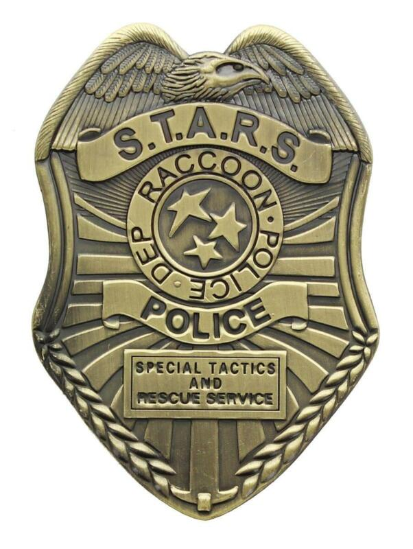 Resident Evil S.T.A.R.S. Diecast Badge Replica