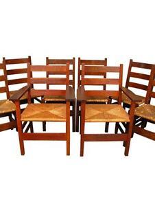 Antique Mission Oak Chairs