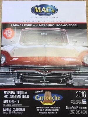 Ford/Mercury/Edsel Macs Antique Auto Parts Catalog Hotrod Ratrod