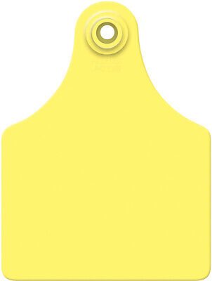 Allflex Global Large Blank Calf Ear Tags 25 Count Yellow