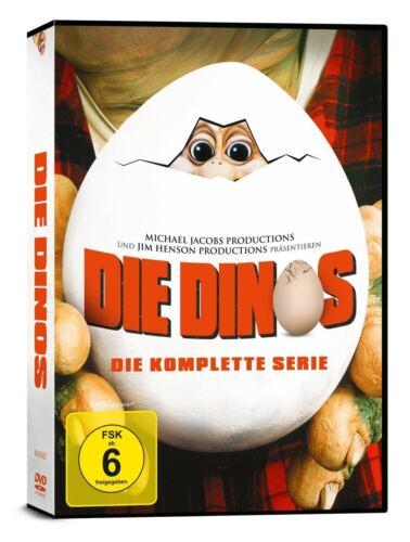 Die Dinos - Die komplette Serie, 9 DVD Edition, alle 65 Episoden NEU + OVP!