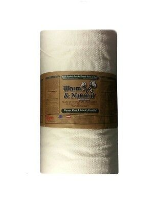 """WARM AND NATURAL COTTON BATTING 18"""" x 90"""" WIDE BY THE HALF YARD"""