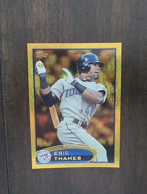 2012 Topps Gold Eric Thames / Mint condition