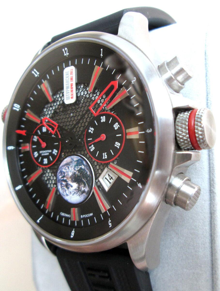 В этот же день на орбите земли оказались и наручные часы «штурманские», которые продемонстрировали безупречность работы механизма в абсолютной невесомости.
