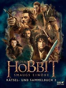Der Hobbit: Smaugs Einöde - Das Rätsel- und Sammelbuch UNGELESEN