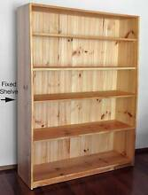SOLID PINE WOOD SHELVES/BOOKCASES - ADJUSTABLE - Queensland Made Noosa Heads Noosa Area Preview