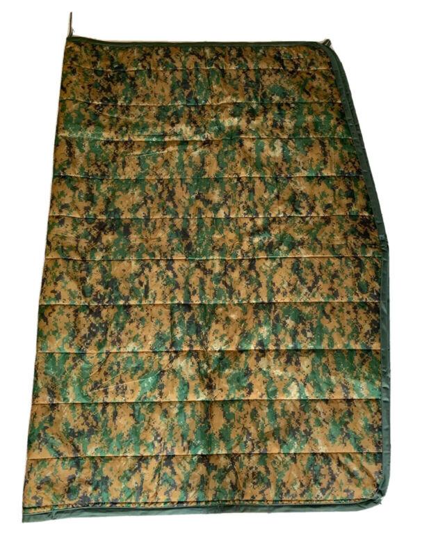 Authentic USMC Military Poncho Liner Marpat Woobie Blanket BRAND NEW