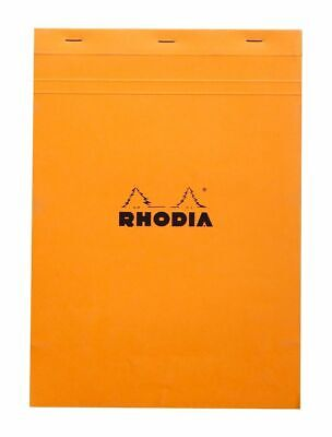 Rhodia N 18 Grid Graph Staplebound Notepad 80 Sheets 8-14 X 11-34 5 Sqin
