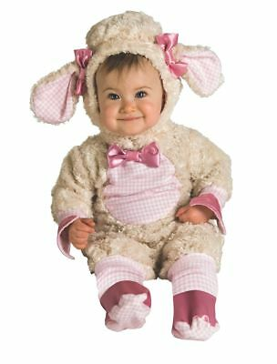 Rubies Lucky Lil' Lamm Tier Schön Kleinkinder Baby Halloween Kostüm 885354 (Lil'lamm Kleinkind Kostüme)