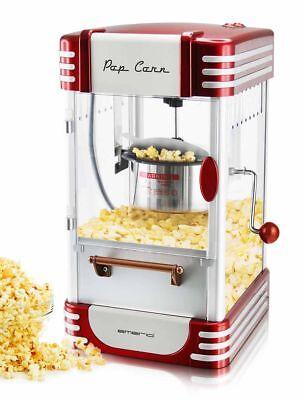 Retro-Design Popcorn-Maschine Popcorn-Maker Nostalgie Popkorn-Automat 360