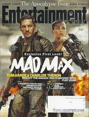 Mad Max Fury Road Entertainment Weekly Jul 2014 Tom Hardy Theron Snowpiercer