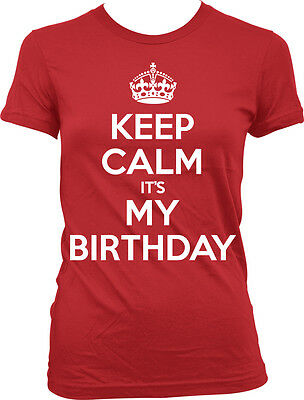 Is It My Birthday (Keep Calm It's My Birthday War Poster Happy Joke Crown Party Is Juniors)