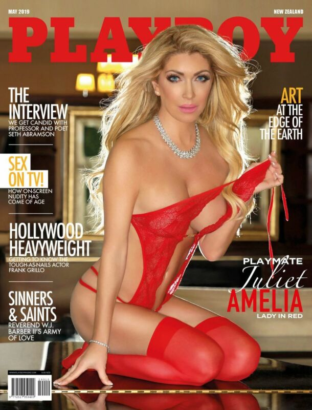 Autographed Playboy Playmate of the Month New Zealand May 2019 magazine.