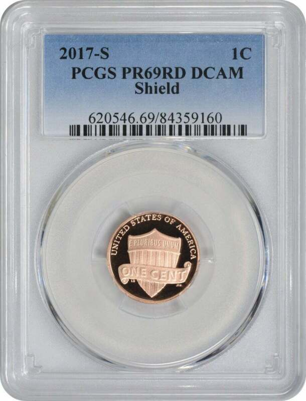 2017-S Lincoln Cent, PR69RD DCAM, PCGS
