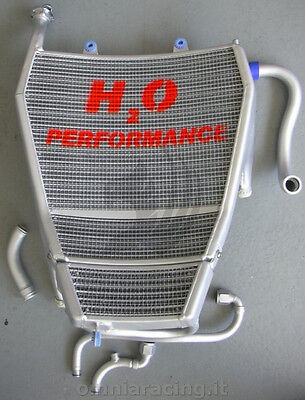 Water and Oil Racing Oversized Radiator H2O Performance BMW S1000RR